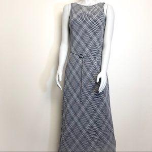 MAX STUDIO Long Double Layered Sleeveless Dress